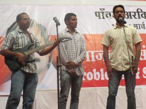 Dastak cultural front, Punjab performing a song
